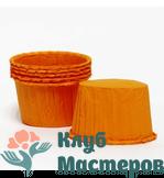 Корзинка бумажная оранжевая