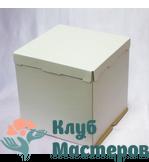 Коробка для торта белая Большая