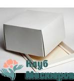 Коробка для торта белая Малая