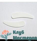 Лопаточка для крема пластик белая 56мм