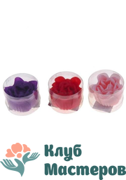 Мыльные лепестки Пышная роза