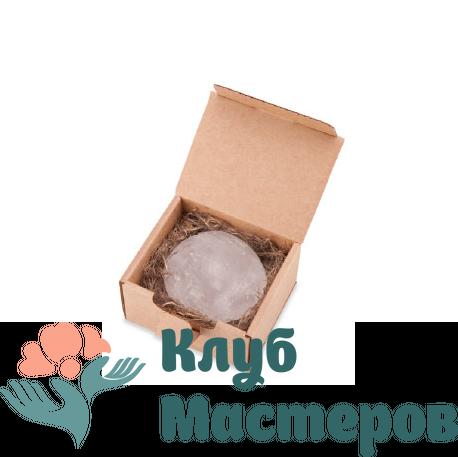 """Натуральный кристаллический дезодорант """"Алунит"""" в коробочке"""